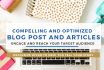 write SEO optimized 500 word articles for your blog
