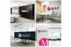 place your LOGO on Awesome Office Interior