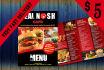 design  Awesome Food Menu Design Flyer, Poster