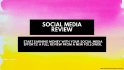 review your social media for more converting profiles and higher ROI