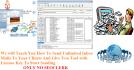 teach You How To Send Unlimited Inbox Bulk mails to your Clients
