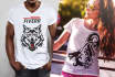 design 5 plus 1 fabulous Tshirt Mockup Models in HD Quality, With an Extra Bonus