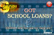 help you take the first steps in repaying your school loan