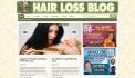 send you Ready Made Hair Loss Treatment Niche Blog