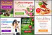 design eye catching web banner or header