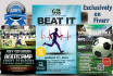 design Professional Sport Flyer with Free source files
