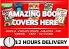 design You an Eye Catchy Ebook or Kindle Cover with bonus