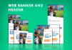 do web banner and header
