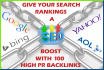 catapult your google rankings with 100 high authority backlinks in 48 hours