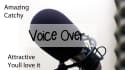 do a awesome male voice over