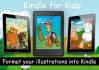 format Children ILLUSTRATION book into kindle