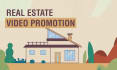 create real estate agent video animation
