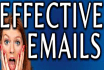 write Compelling and Effective emails for you