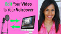 edit your video to your voiceover