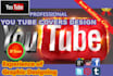 design Awesome Youtube media channel art