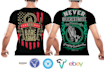 design a Professional Teespring Tshirt of any niche