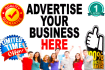 provide Banner Advertising on 12 Business Websites 5 Months