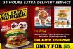 design a FOOD flyer, poste or Menu