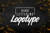 create a Hand Lettering Logotype