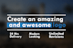 create 2 amazing and awesome logo in 24HRS