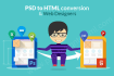 convert PSD to Responsive HTML5 CSS3 within 24 Hours