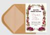 design Beautiful Rose Garden Save the Date Printable