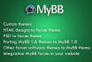 make custom theme mybb