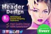 design website or blog header