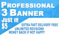create web header,web banner, facebook cover for you