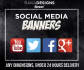 design your social media banners
