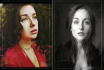 draw you one realistic style artistic portrait