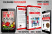 create cool kindle, ebook cover and product label