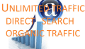 drive Unlimited organic TRAFFIC,Visitors to your site within 7 days