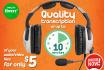 provide QUALITY audio transcription services