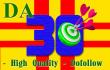 give you high quality backlinks with 2xDA30