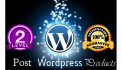 post WORDPRESS product or web content post to your website