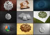 transform your logo into 10 photorealistic 3d mockups