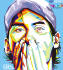 draw your face into  wedhas pop art potrait WPAP or vector art