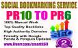 create 35 Pr10 to Pr6 Manual Social Bookmarking Backlinks