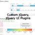 create a custom jQuery, jQuery UI plugin