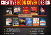 design professional 3D Ebook or Kindle cover in 24 hours