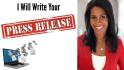 write a professional press release