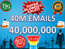 give you 40M Email Lists Super Blowout