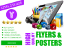 create awesome Flyer or Poster