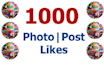 provide 1000 facebook photo or status likes