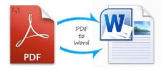 convert your pdf files to doc and docx