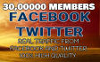 promote websites,or blog,via 30,00000 plus peoples, on social,media