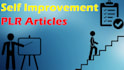 give over 5000 self improvement PLR articles
