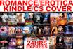 create Professional Kindle Cover Fiction Romance Erotica