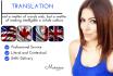 do Flawless English French Translation